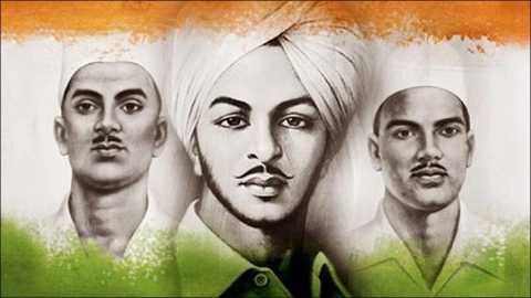 Bhagat Singh, Rajguru And Sukhdev