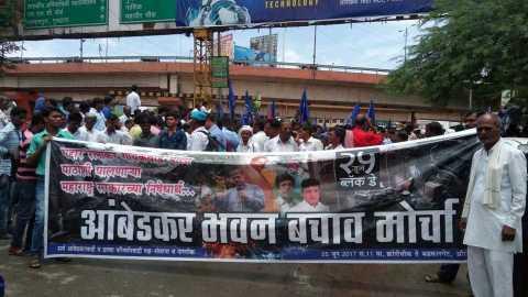 aurangabad news marathi news ratnakar gaikwad agiation