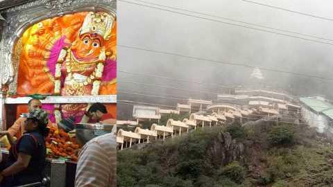 nashik news vani news saptshrungi temple open disaster management marathi news