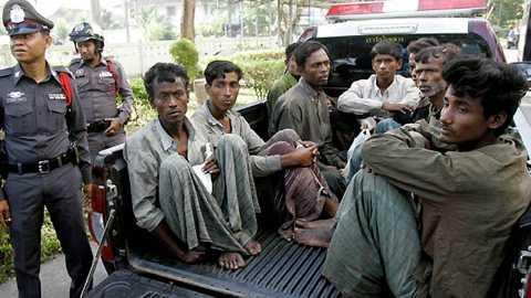 The Myanmar government has been repeatedly criticized by human rights groups for failing to protect the Rohingya Muslims.