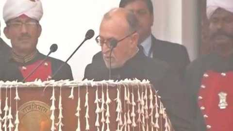 Anil Baijal takes oath as Delhi Lt Governor