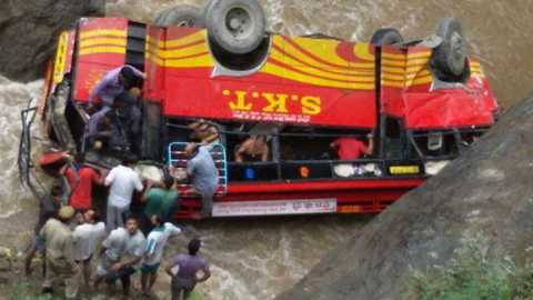 Manipur: 10 killed, 25 injured as bus falls into stream