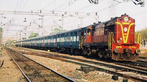 Representational image of Indian Railway