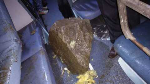 landslide on Hubli Express near Khandala