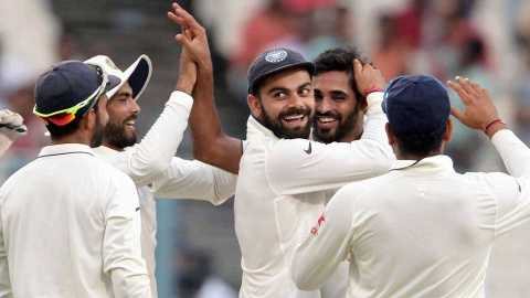 Indian team for the first two Test matches of the four-match Test series against Australia