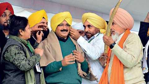 Shekhar Gupta writes about Aam Aadmi defeat in Punjab