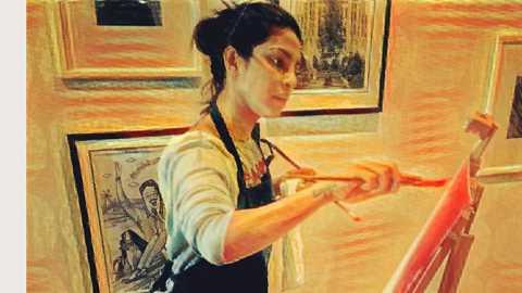 Priyanka Chopra takes up painting, is Salman Khan her inspiration?