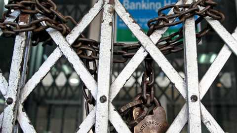 Banks will be closed for next three days