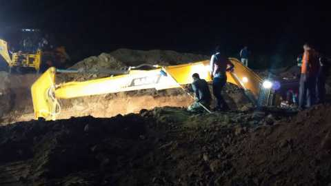 Satara news Death of Mangesh, who fell into a borewell, died later