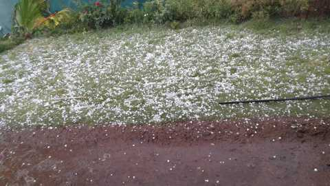 Nasik: Hailstorm in Nampur area