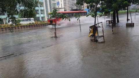 rain in thane