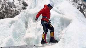 Manisha Waghmare pre-climbing the Everest