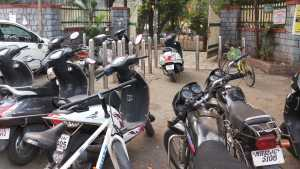 vartak Garden vehicle parking