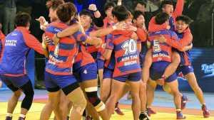 Korea defeats India in kabaddi