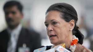 File photo of Sonia Gandhi