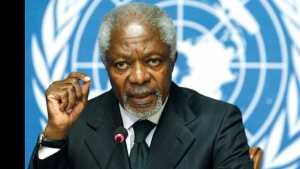 Kofi Annan former UN secretary general dies