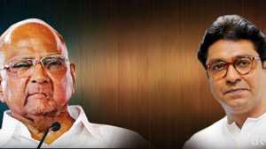 Sharad Pawar Raj Thackray