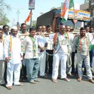 agitation for farmer loan waiver in Nashik
