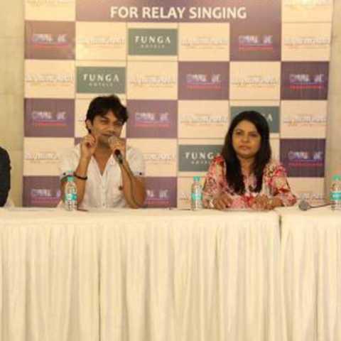 india first relay singing in dr tatya lahane movie