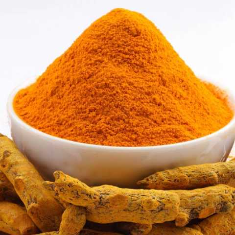 Turmeric increases due to the brain's ability