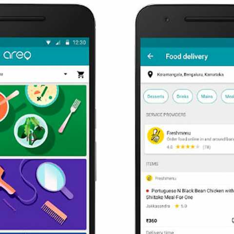 indian users food delivery app
