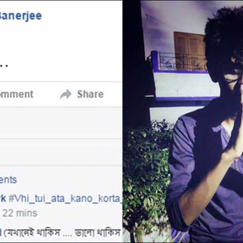 Boy posts 'bye' on Facebook, found hanging