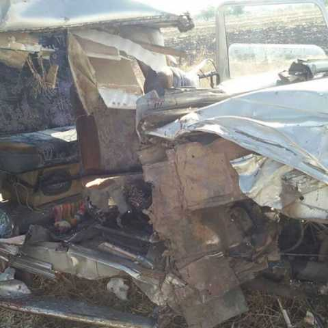 Four people were killed in an accident near Beed