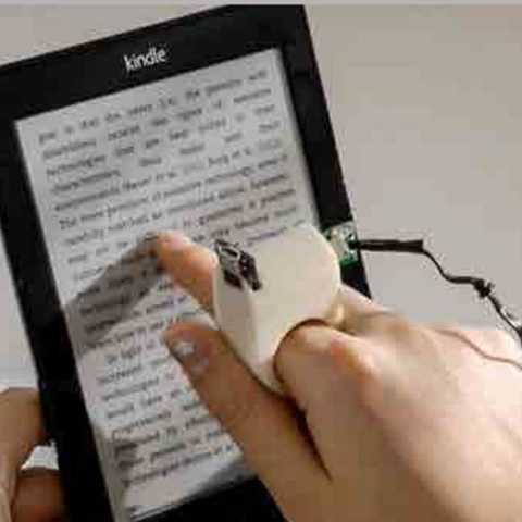 Technology into the hands of the staff of the blind