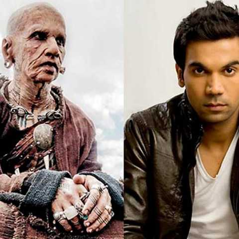 Rajkummar Rao in the getup of a 324-year-old man is ridiculously unrecognizable