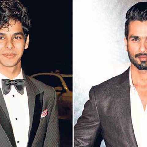 Shahid's brother with dipika Bollywood entry