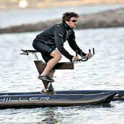 पाण्यावर चालणारी सायकल